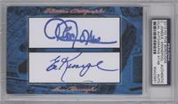 Cleon Jones, Ed Kranepool /48 [PSA/DNA Certified Auto]