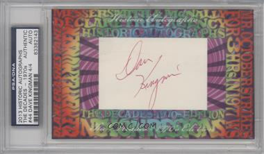 2013 Historic Autographs The Decades - 1970s Edition - Framed Cut Autographs #44 - Dave Kingman /4 [PSA/DNA Certified Auto]
