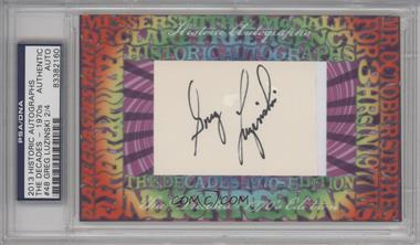 2013 Historic Autographs The Decades - 1970s Edition - Framed Cut Autographs #48 - Greg Luzinski /4 [PSA/DNACertifiedAuto]