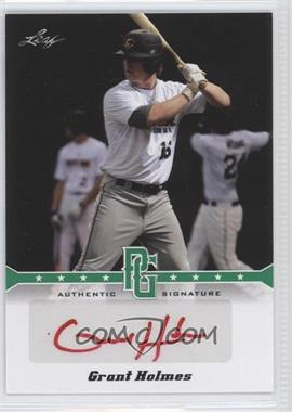 2013 Leaf Perfect Game Showcase - Autographs - Green #A-GH1 - Grant Holmes /10