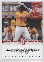 John Henry Styles