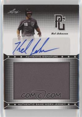 2013 Leaf Perfect Game Showcase - Jersey Autographs #JA-KJ1 - Kel Johnson