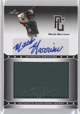 2013 Leaf Perfect Game Showcase - Jersey Autographs #JA-MH1 - Monte Harrison
