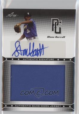 2013 Leaf Perfect Game Showcase - Jersey Autographs #JA-SG1 - Stone Garrett