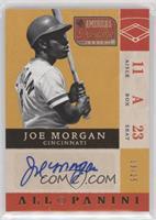 Joe Morgan #/25