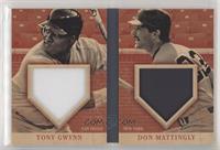 Tony Gwynn, Don Mattingly #/49