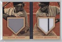 Austin Jackson, Curtis Granderson /25