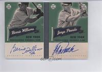 Bernie Williams, Jorge Posada /10