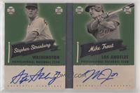 Mike Trout, Stephen Strasburg #/10