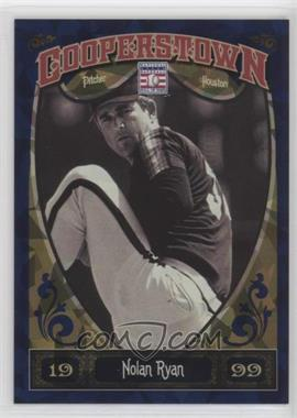 2013 Panini Cooperstown Collection - [Base] - Blue Crystal Shard #100 - Nolan Ryan /499