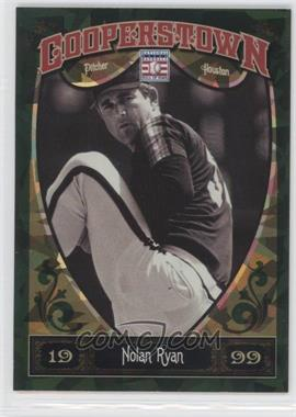 2013 Panini Cooperstown Collection - [Base] - Green Crystal Shard #100 - Nolan Ryan