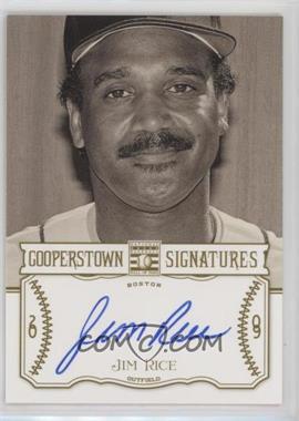 2013 Panini Cooperstown Collection - Cooperstown Signatures #HOF-JIM - Jim Rice /799