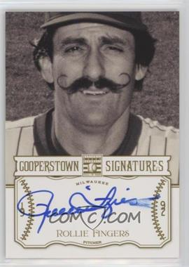 2013 Panini Cooperstown Collection - Cooperstown Signatures #HOF-ROL - Rollie Fingers /700