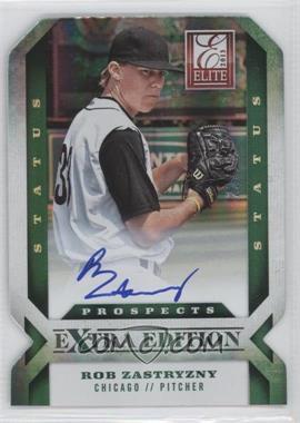 2013 Panini Elite Extra Edition - [Base] - Emerald Status Signature [Autographed] #126 - Rob Zastryzny /25