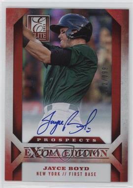 2013 Panini Elite Extra Edition - Prospect Autographs #188 - Jayce Boyd /299