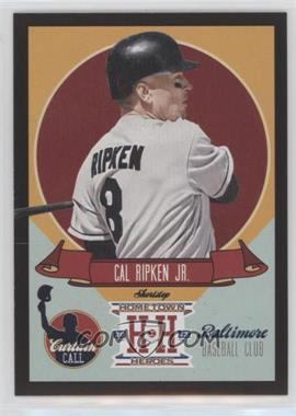 2013 Panini Hometown Heroes - Curtain Call - Black #CC15 - Cal Ripken Jr.