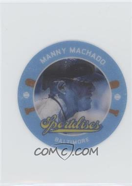 2013 Panini Hometown Heroes - SportDiscs #SD50 - Manny Machado