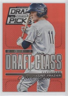 2013 Panini Prizm Perennial Draft Picks - [Base] - Red Prizms #105 - Clint Frazier /100