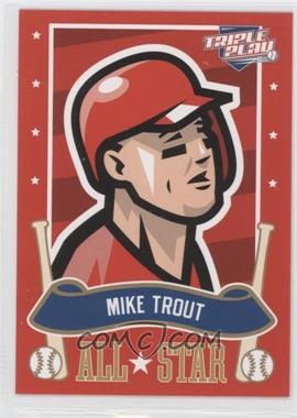 2013 Panini Triple Play - All-Stars #23 - Mike Trout