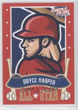 2013 Panini Triple Play - All-Stars #5 - Bryce Harper
