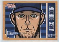Alex Gordon 2006 Baseball Cards Matching Panini Triple Play