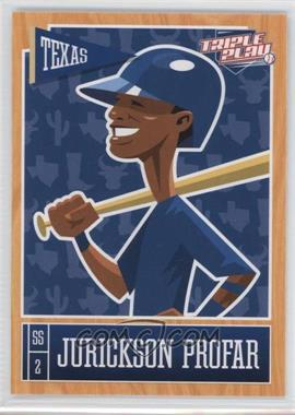 2013 Panini Triple Play - [Base] #81 - Jurickson Profar