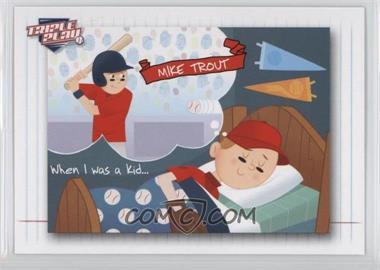 2013 Panini Triple Play - [Base] #91 - Mike Trout