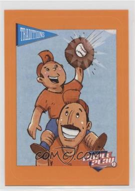 2013 Panini Triple Play - Cartoon Stickers #8 - Father & Son
