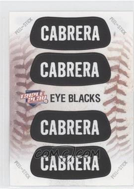 2013 Panini Triple Play - Eye Blacks #6 - Miguel Cabrera
