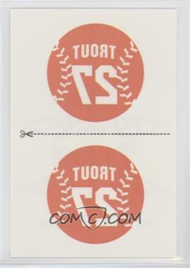 2013 Panini Triple Play - Tattoos #10 - Mike Trout