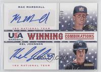 Mac Marshall, Kel Johnson /50