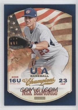 2013 Panini USA Baseball Champions - [Base] #44 - Nick Delmonico