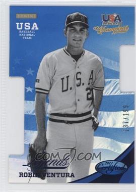 2013 Panini USA Baseball Champions - Certified Legends Die-Cut - Mirror Blue #29 - Robin Ventura /199