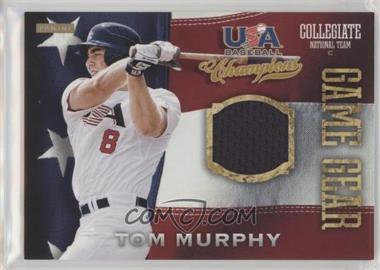 2013 Panini USA Baseball Champions - Game Gear Jerseys #21 - Tom Murphy