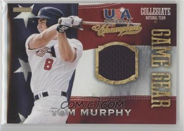 2013 Panini USA Baseball Champions - Game Gear Jerseys #21 - Tom Murphy