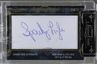 Sparky Lyle /25 [CutSignature]