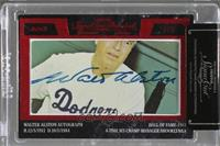 Walter Alston /5 [Cut Signature]
