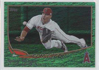 2013 Topps - [Base] - Emerald Foil #536 - Mike Trout