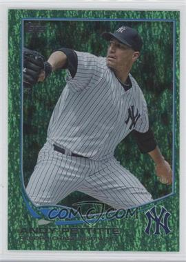 2013 Topps - [Base] - Emerald Foil #90 - Andy Pettitte