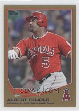 2013 Topps - [Base] - Gold #266 - Albert Pujols /2013