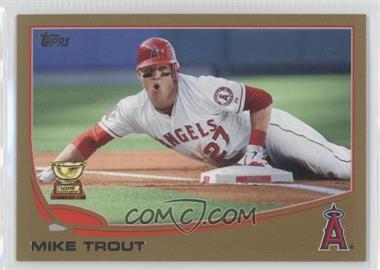 2013 Topps - [Base] - Gold #27 - Mike Trout /2013