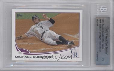 2013 Topps - [Base] - Topps Vault First Edition Encased #449 - Michael Cuddyer /1 [BGS AUTHENTIC]