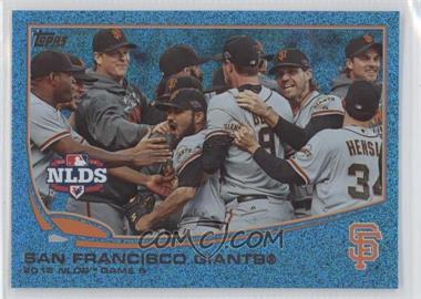 2013 Topps - [Base] - Wrapper Redemption Blue Slate #260 - San Francisco Giants Team