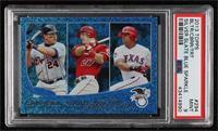2012 AL Batting Average Leaders (Miguel Cabrera, Mike Trout, Adrian Beltre) [PS…