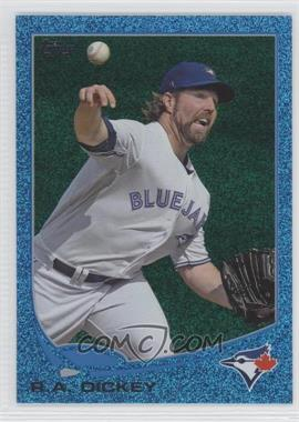 2013 Topps - [Base] - Wrapper Redemption Blue Slate #554 - R.A. Dickey
