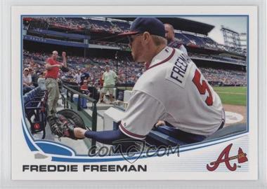 2013 Topps - [Base] #105.2 - Freddie Freeman (Crowd Interaction)