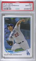 Clayton Kershaw (Pitching) [PSA 10 GEM MT]