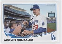 Adrian Gonzalez (Crowd Interaction)
