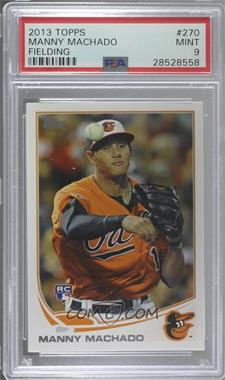 2013 Topps - [Base] #270.1 - Manny Machado (Orange Uniform) [PSA9MINT]