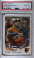 Manny Machado (Orange Uniform) [PSA 10 GEM MT]
